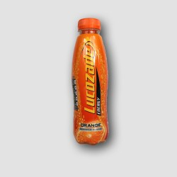 Bottle of lucozade orange 380ml
