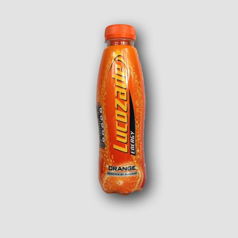 Bottle of lucozade orange 380ml