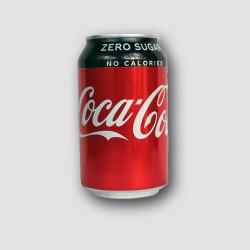 Can of Coca cola zero sugar