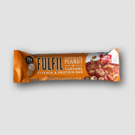 Fulfil chocolate peanut and caramel bar