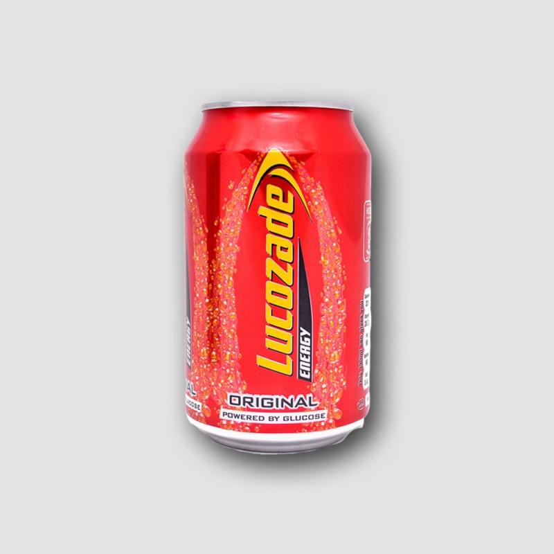 Can of Lucozade Energy Original 330ml