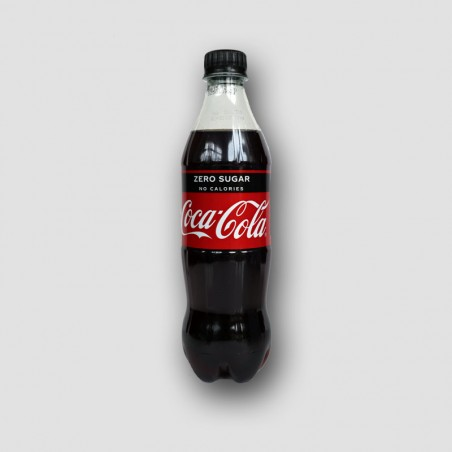 Bottle of Coca Cola ZERO SUGAR