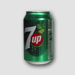 Can of 7up lemon