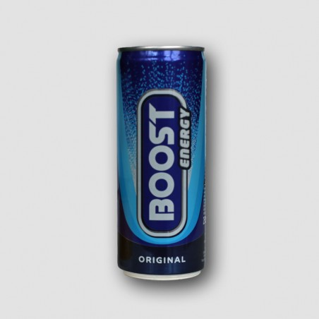 Can of boost energy drink
