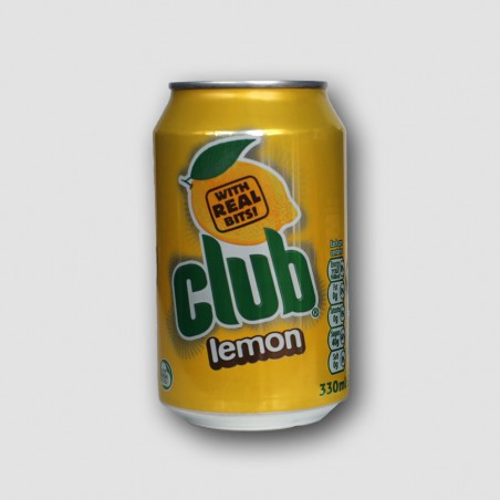 Can of club lemon