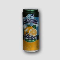 Can of san benedetto lemon