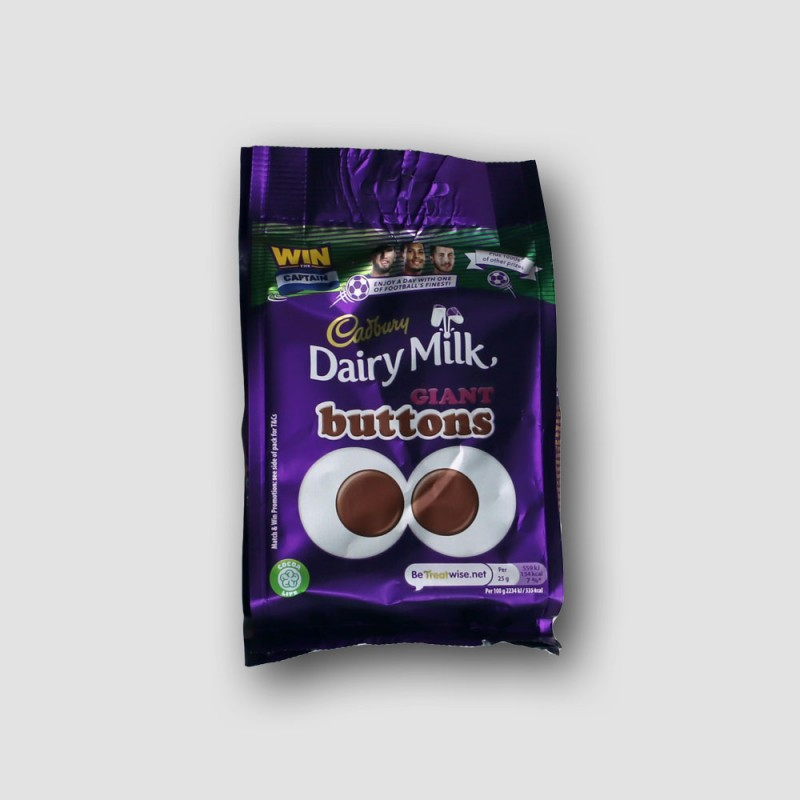 Pack of Cadbury Dairy Milk GIANT Buttons