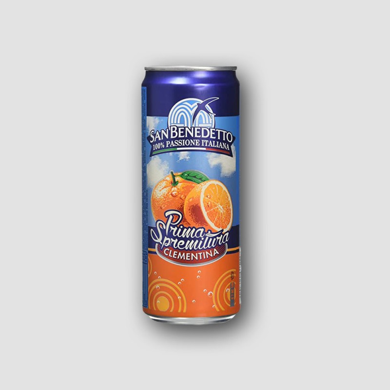 Can of San Bendetto Clementine