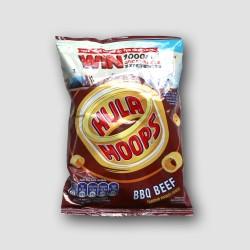 hula hops crisps bbq beef