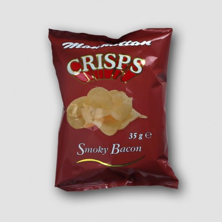Pack of manhattan smoky bacon crisps