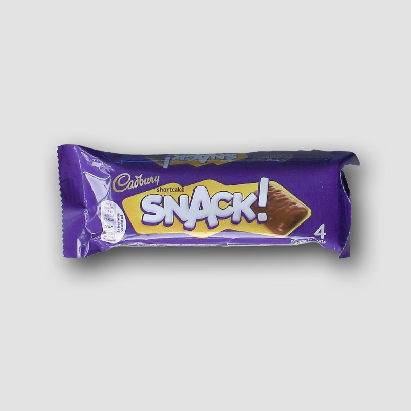 cadbury snack chocolate bar