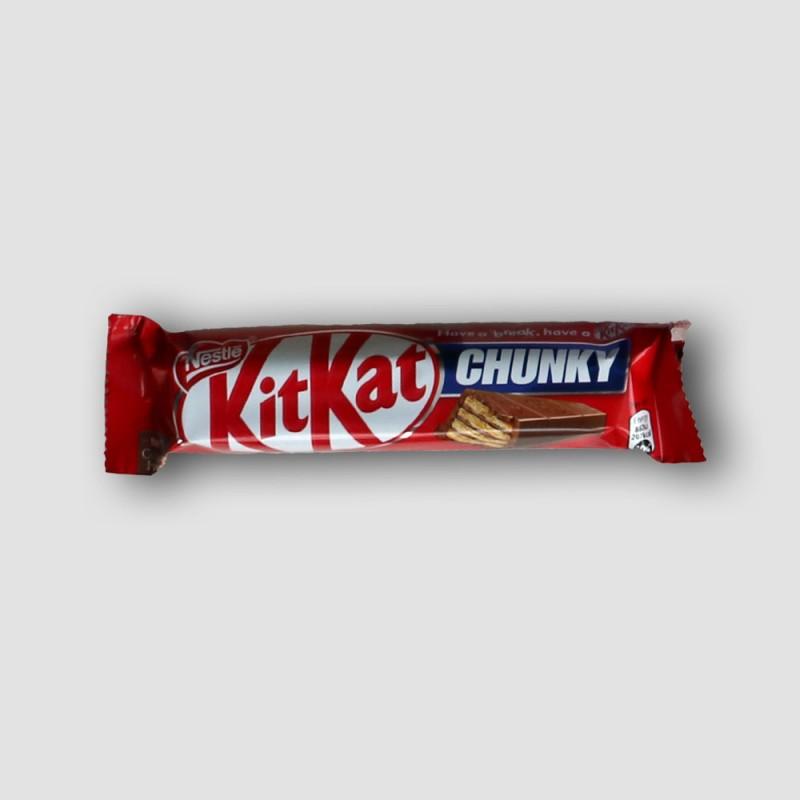 Kitkat chunky chocolate bar