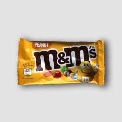 Pack of m&m's peanut sweets