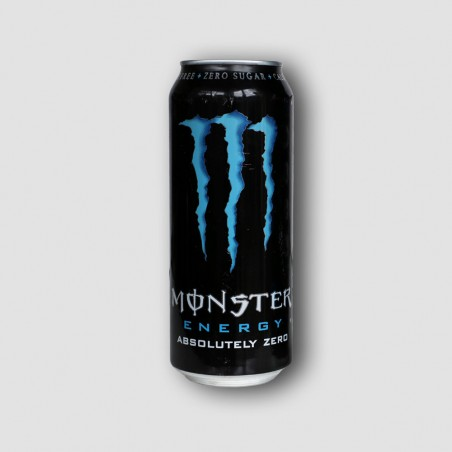 Can of monster zero energy drink