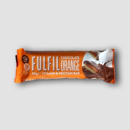 Fulfil chocolate orange protein bar
