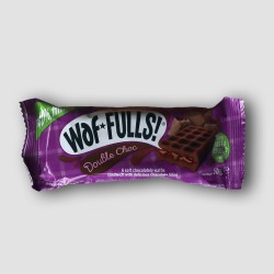 Waffulls double chocolate snack waffle
