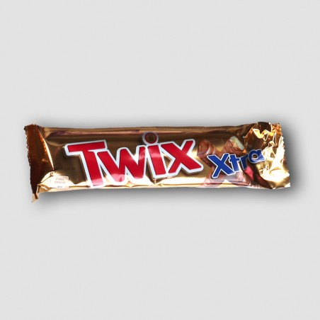 twix xtra chocolate bar