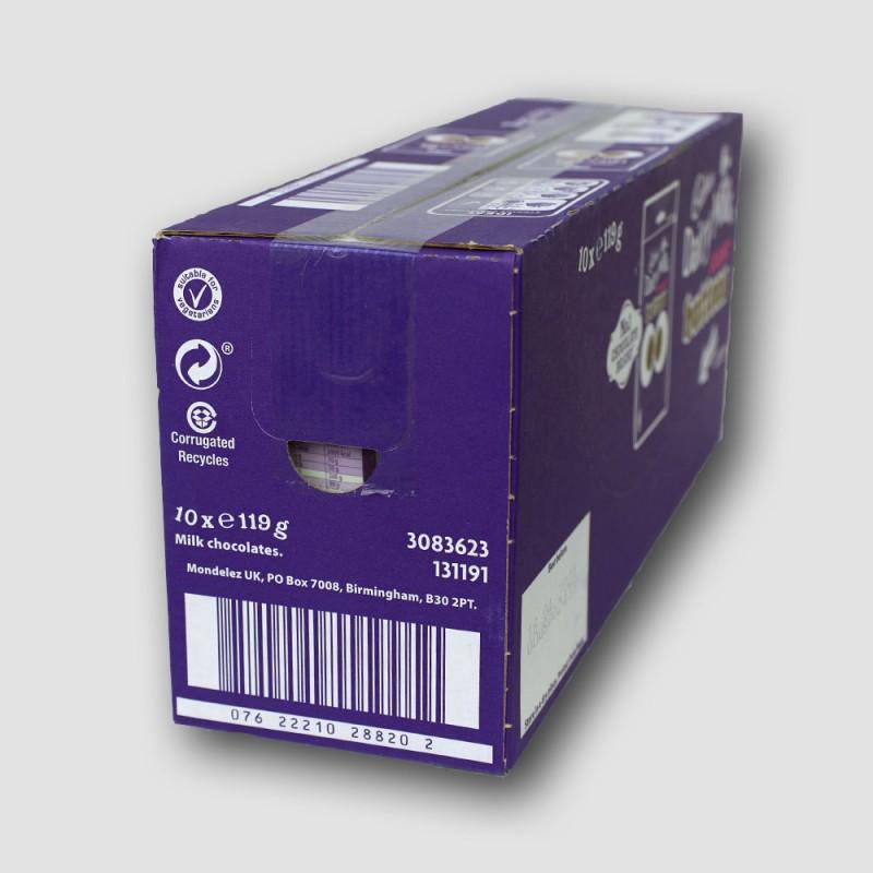 Box of cadbury giant buttons