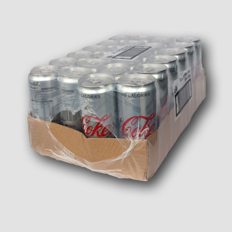 24 Cans of coke diet