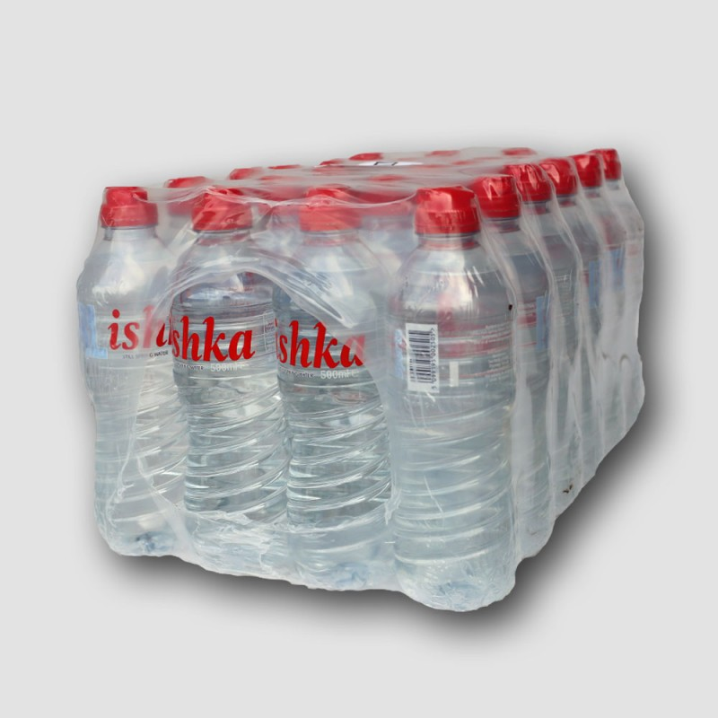 Crate of Ishka still water