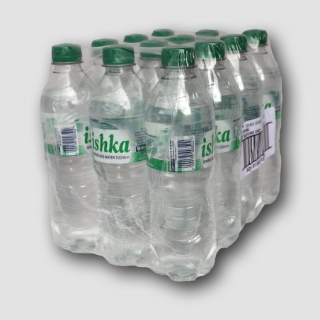 12 of Ishka sparkling water