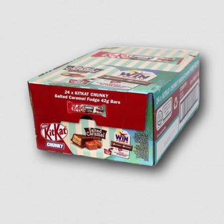 Box of kitkat chunky
