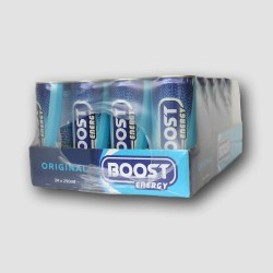 24 Cans of boost energy drink