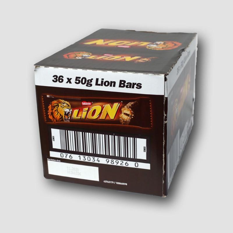 Box of 36 Nestle lion bars