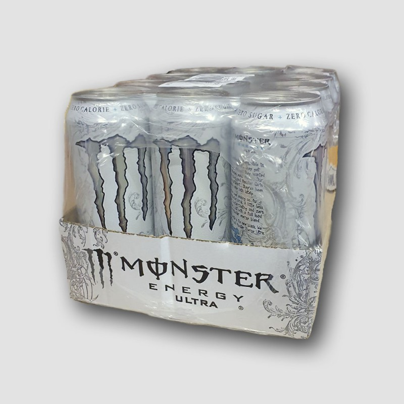 Monster Energy Ultra cans 12 pack