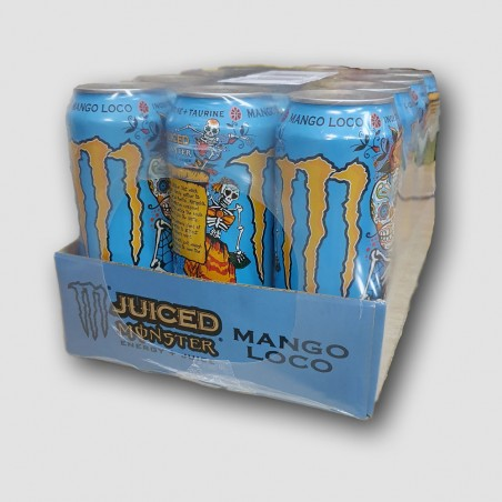 Monster energy cans juiced mango loco 12 pack