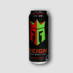 Can of reign melon energy drink