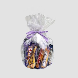 Cadbury hamper with 15 chocolate bars