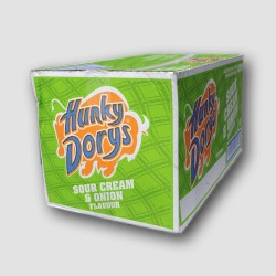 Hunky dorys crisps box sour cream