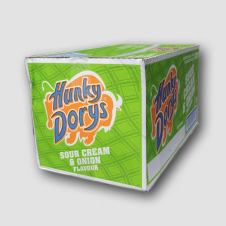 Hunky dorys crisps box sour cream