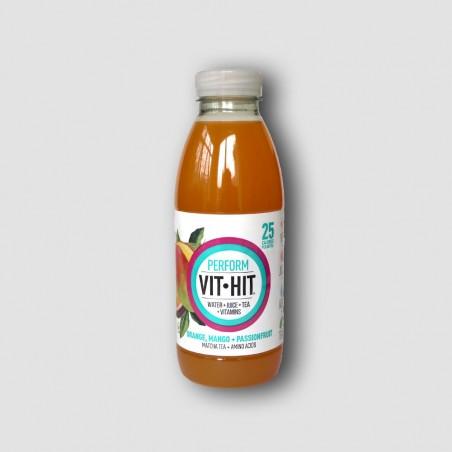 Bottle of VitHit Perform Orange, Mango and Passionfruit