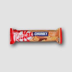 Kitkat chunky peanut butter bar