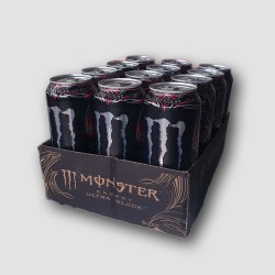 12 pack of monster energy ultra black
