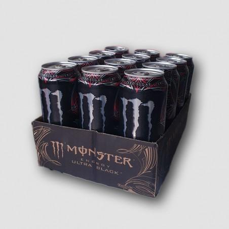 12 pack of monster energy ultra black