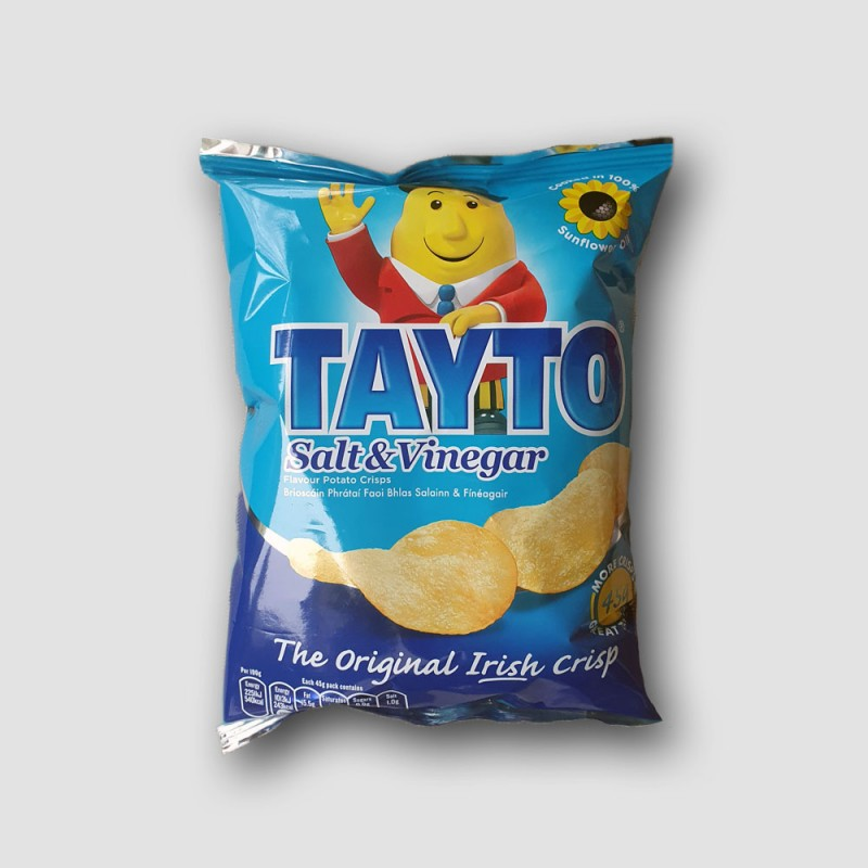 Pack of tayto salt and vinegar