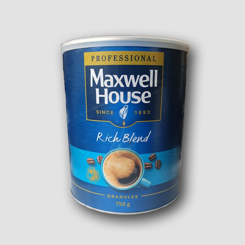 Maxwell house coffee rich blend