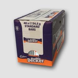 box of cadbury double decker choclate bars