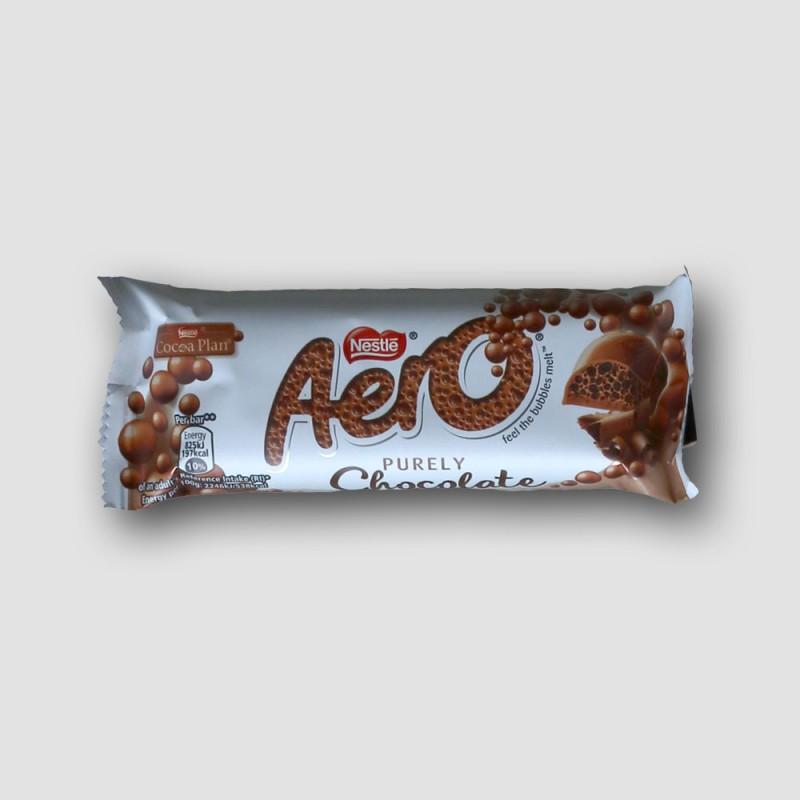nestle aero chocolate bar