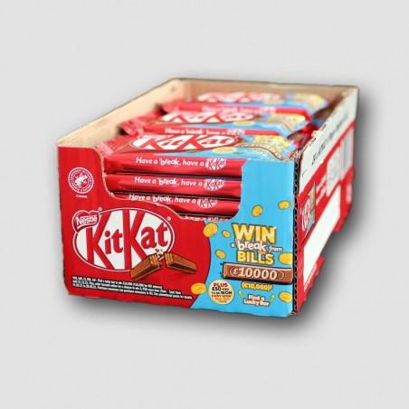 Box of Nestle Kitkat 4 finger