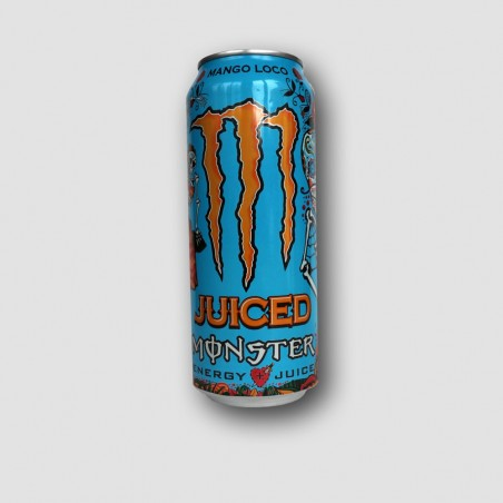 Can of monster energy mango