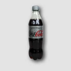 Bottle of coca cola diet